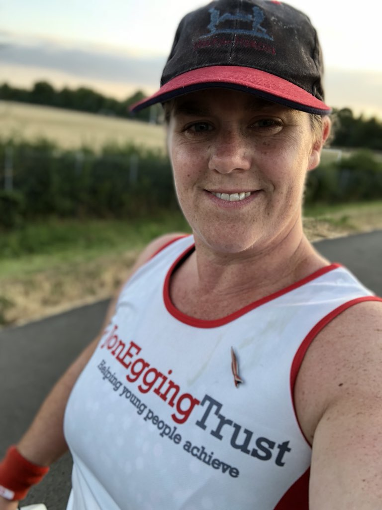 Tonights training run @JonEggingTrust  always a pleasure. Wanted to get to 15km and did 16km. Almost ready for Great North Run.