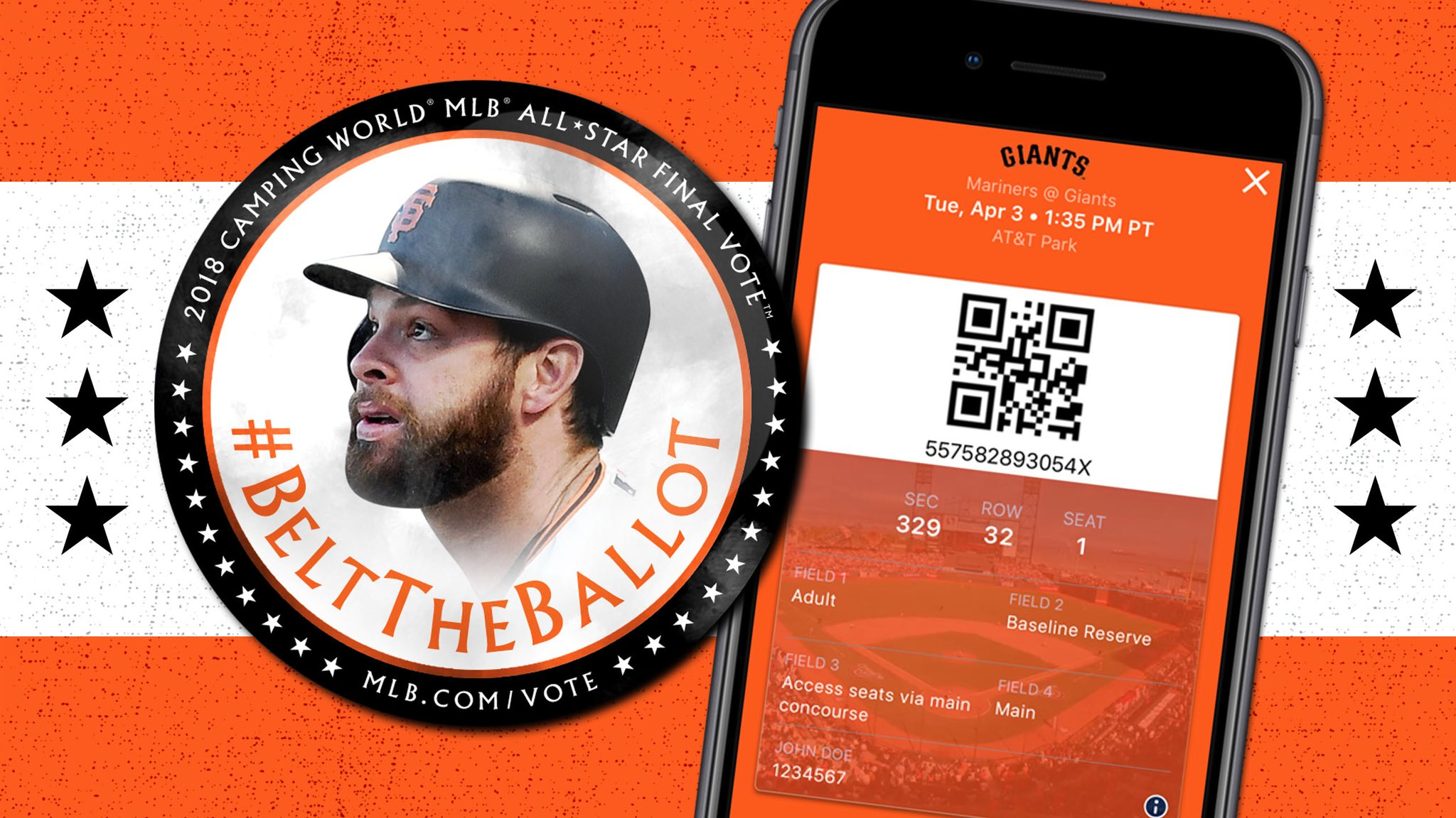 $9 tickets when you vote for #9!   #BeltTheBallot: https://t.co/dmEb66KxYW  INFO: https://t.co/dlQo5J4ybP  #SFGiants https://t.co/4IaJdvDdJM