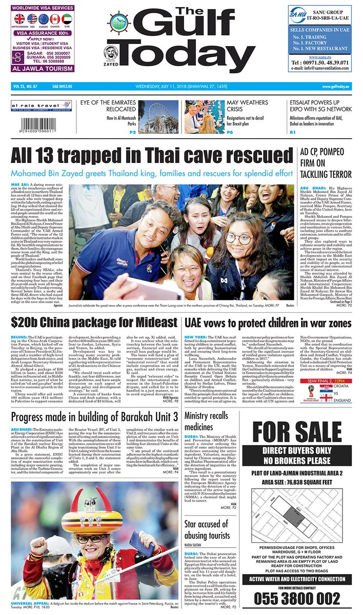 'The Great Escape': newspapers around the world share joy ...