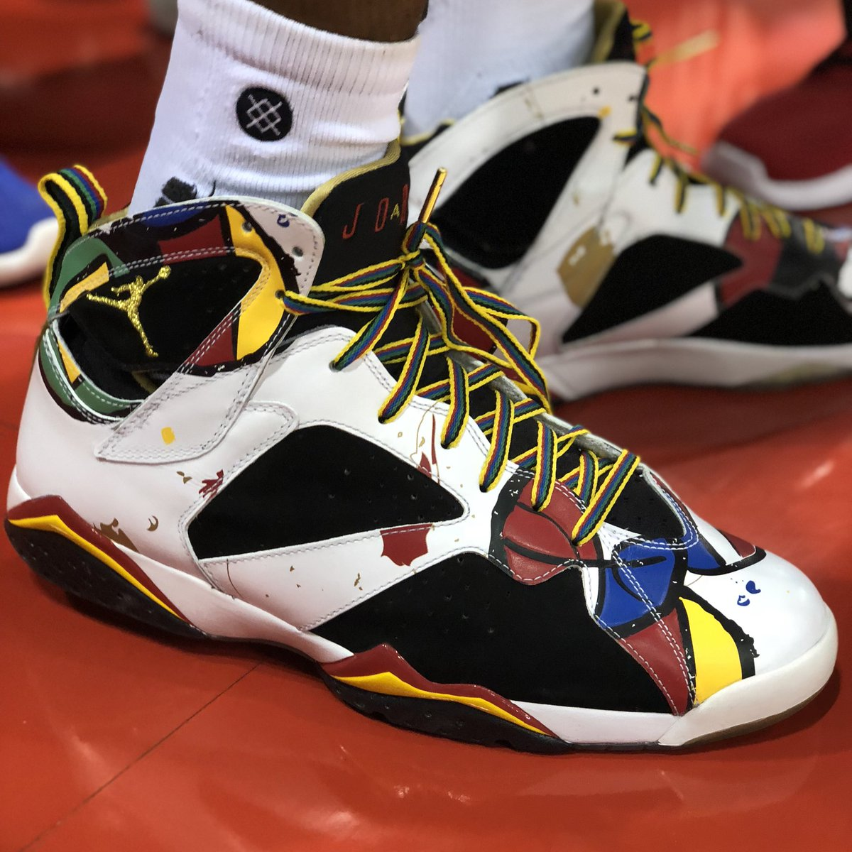 .@ripcityhamilton bringing the 🔥👟 to @NBASummerLeague 👀  #NBAKicks