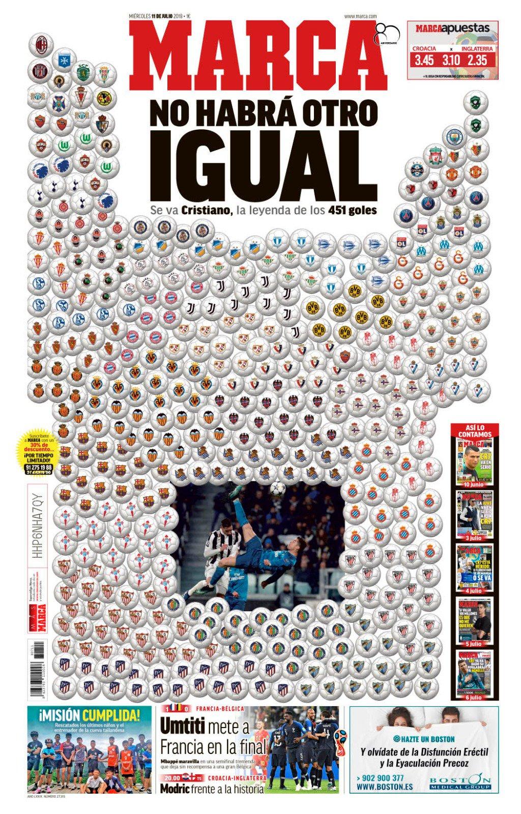 #LaPortada No habrá otro igual #AdiósLeyenda https://t.co/9dkjko9kE5