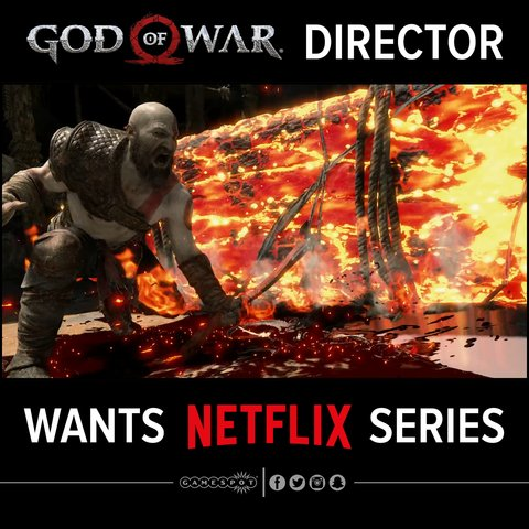Hey @Netflix, can we help out @CoryBarlog and make a God of War TV series actually happen? �� https://t.co/W3Ldk7KZf1 https://t.co/68F7uKDsFa