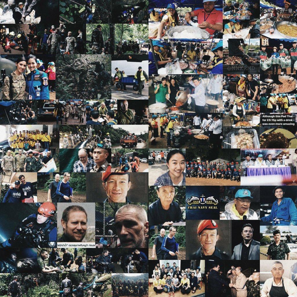 "More than Humanity. More than Unity. More than Rescue. More than Bravery. More than Sacrifice. More than Hope. More than Miracle. More than Words.  ""Thank You So Much""   #ThailandCaveRescue #พาทีมหมูป่ากลับบ้าน #hooyah #ถ้ำหลวง #marvel #infinitywars  ขอบคุณเจ้าของภาพด้วยค่ะ<br>http://pic.twitter.com/Bvi3nVGewo"