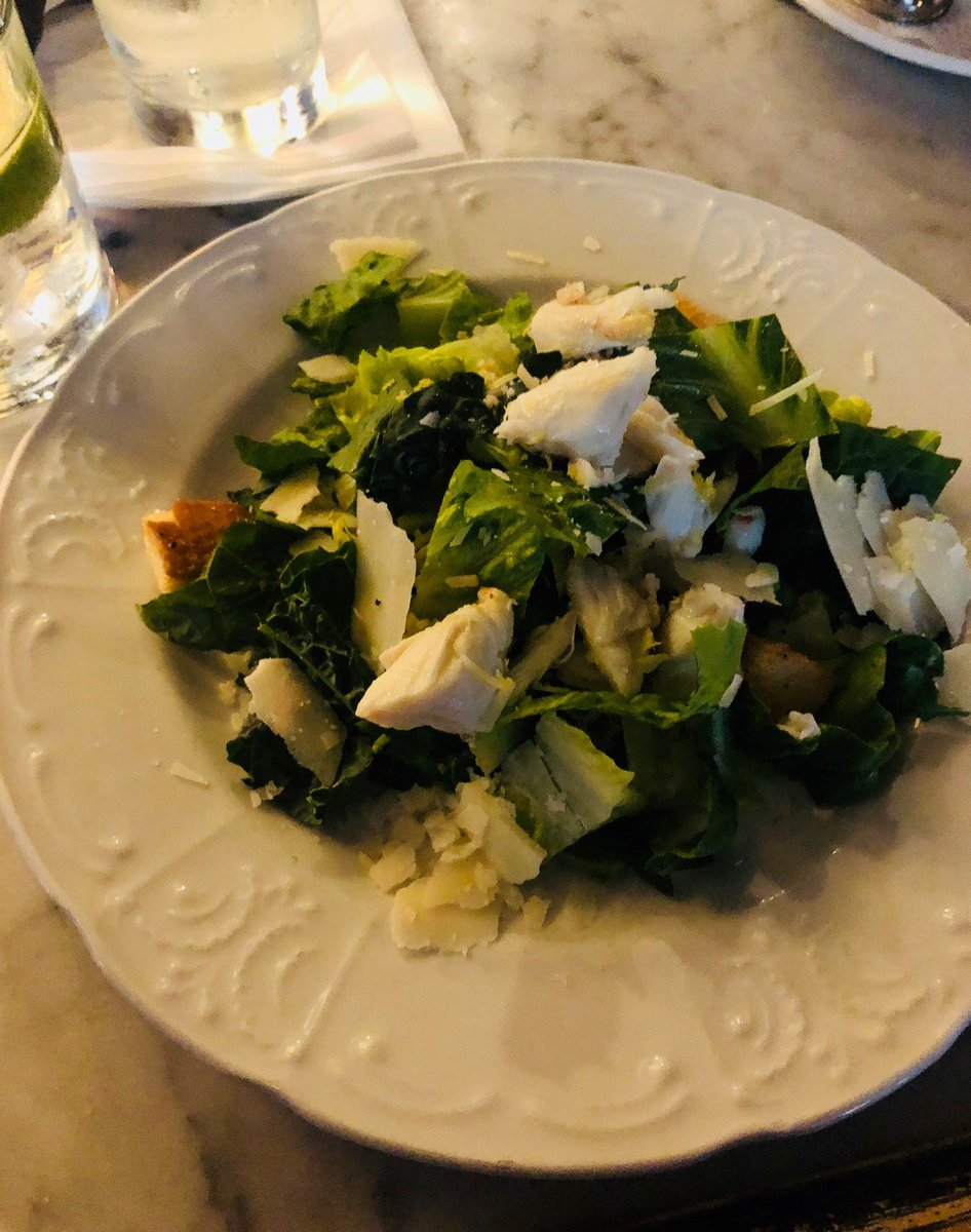 lump crab kale caesar salad #dinner #fav (at @PrimeProvisions in Chicago, IL w/ @chienadoll) https://t.co/kuOhagCVeo https://t.co/wRMlHAAw1j