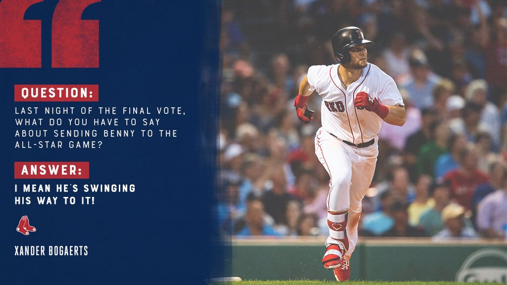 A couple RBI-doubles for tonight!   #VoteBenny: https://t.co/TNu271yiIB https://t.co/QL0T7knrNE