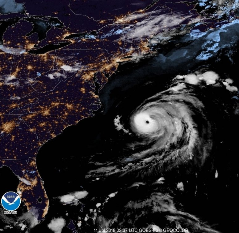 Hurricane Chris is now the strongest Chris storm in Atlantic history