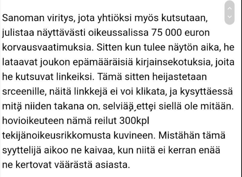 Twitter Rebekka Härkönen