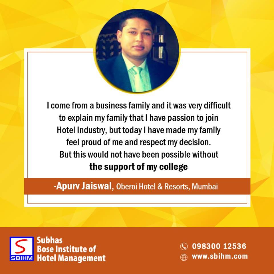 Subhas Bose Institute of Hotel Management on Twitter