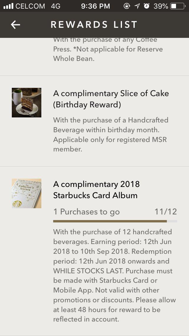 Starbucks Malaysia On Twitter Starbucks Cards Collectors Heres
