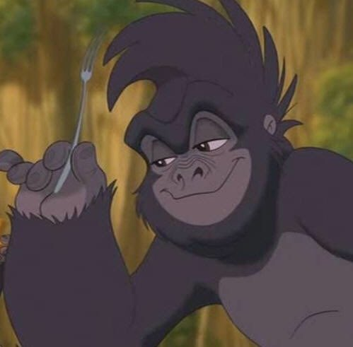 это время картинки горилл из тарзана африке
