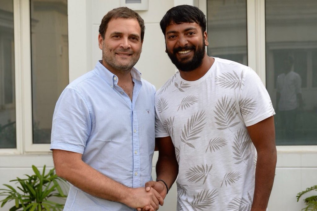 Why Rahul Gandhi met Kollywood filmmaker Pa. Ranjith?