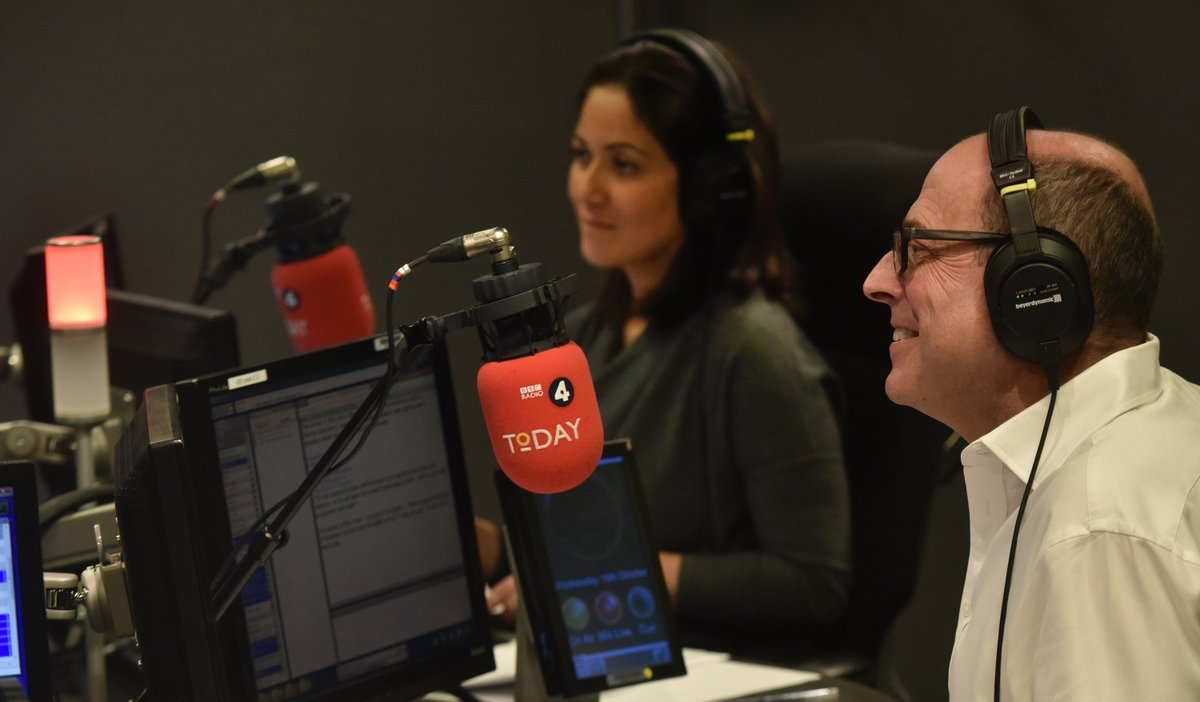 Good morning. Presenting today are @mishalhusainbbc and @bbcnickrobinson. Join the conversation using #r4today