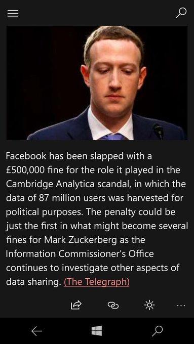 2 days ago, I read Mark Zuckerberg is the third richest man on this planet! Photo