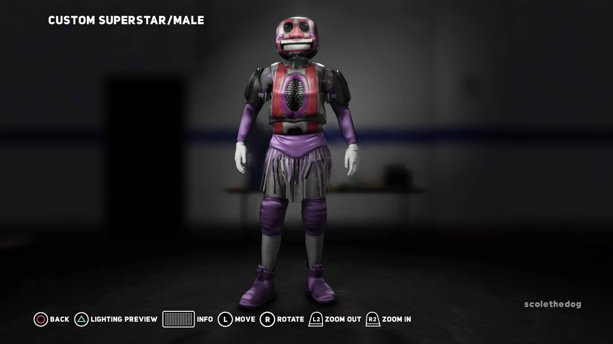 Gamebro On Twitter Made Music Man From Ffps In Wwe2k18 Fnaf