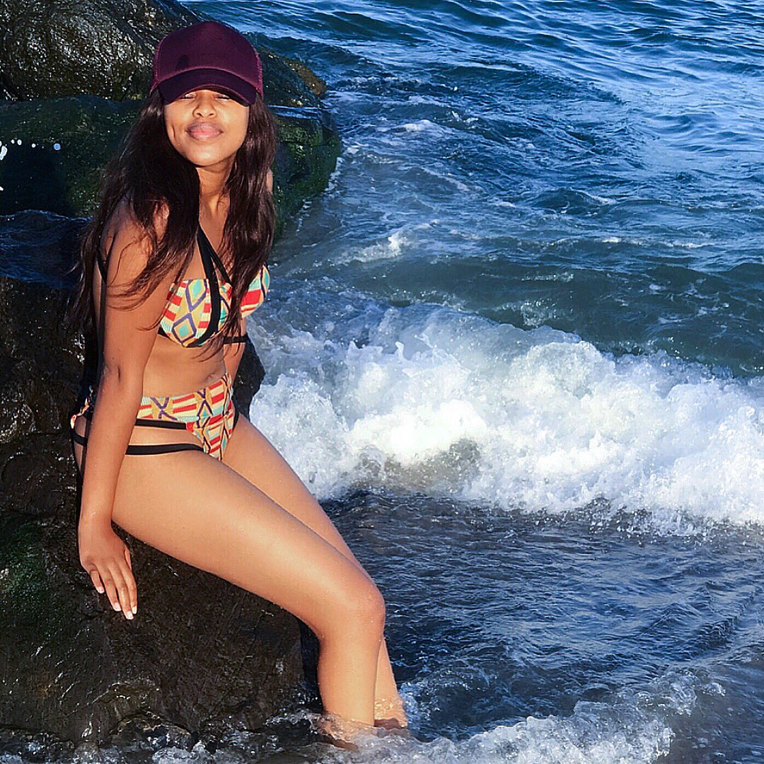"""Natasha Thahane on Twitter: """"I know a girl that saves pictures from places  she's flown. To post later & make it look like she still on the go 🎼🌞🐬  #LastWeekend… https://t.co/x77UXznGIs"""""""