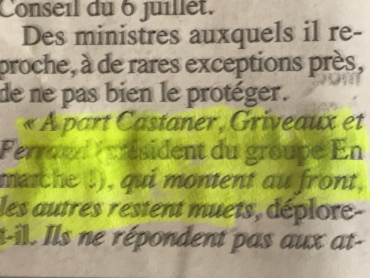#Castaner #Griveaux #Ferrand étaient déjà de la politique «La politique C'est un métier» qui s'apprend et c'est mauvais pour la démocratie de limiter les mandats #LeCanard  - FestivalFocus