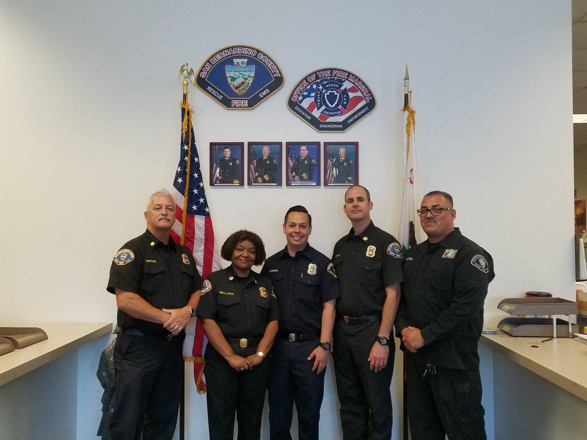 San Bernardino County Fire Department Picture