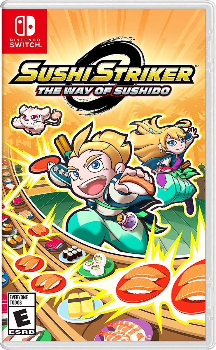 Wario64 On Twitter Sushi Striker The Way Of Sushido Switch 3 Animation Is 3451 Amazon Https Tco Oq9jtnppgm