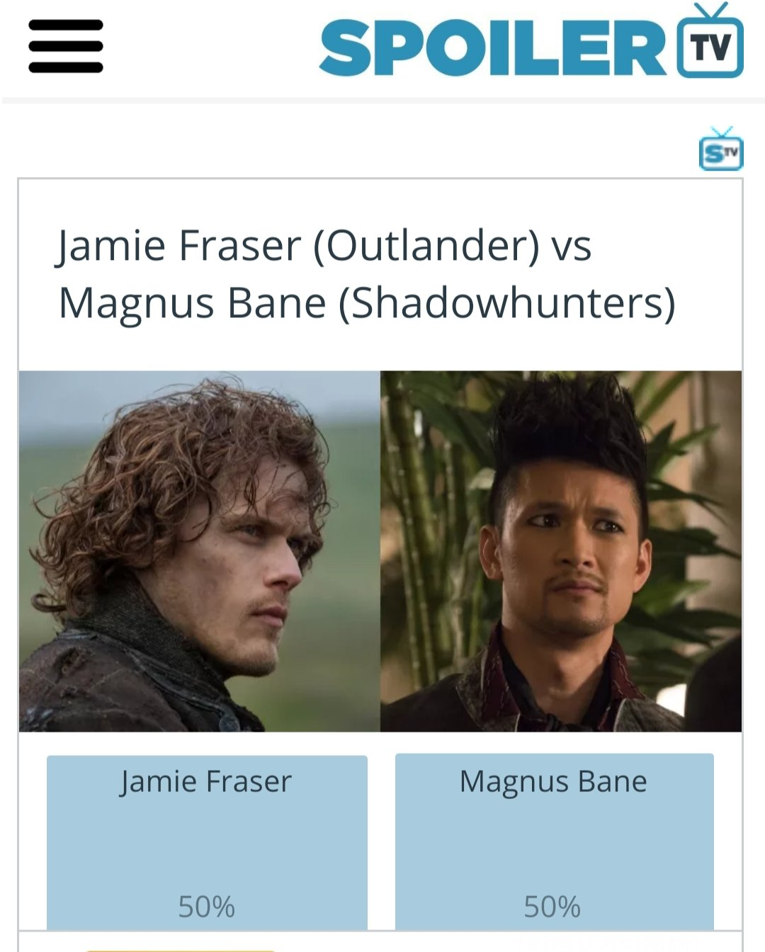 Vote for Magnus ���� #SaveShadowhunters #NotOurLastHunt https://t.co/6PDbjKIAj5 https://t.co/IERsqS1KLD