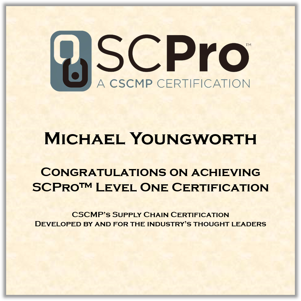 Cscmp On Twitter Congratulations To Michael Youngworth Of