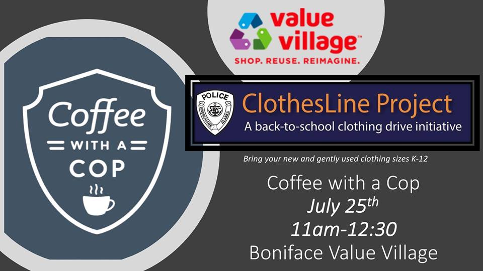 Clothesline Anchorage Fascinating Anchorage Police Department On Twitter Coffee With A Cop Is TODAY
