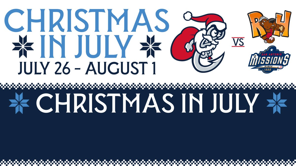 corpus christi hooks on twitter the hooks are back at whataburger field starting tomorrow night the homestand begins with a our 3 day christmas in july - Is Whataburger Open On Christmas Day