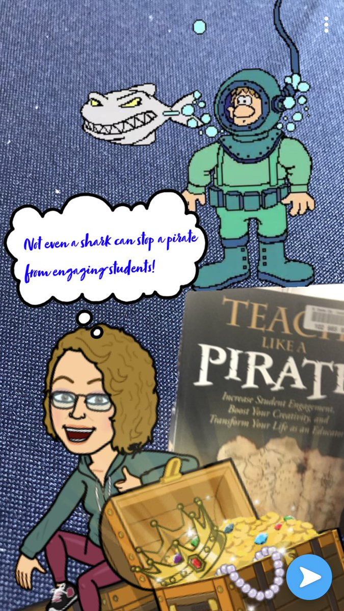 In honor of Shark Week I am sharing this inspirational #DaveBurgess book #tlap🦈! #DBCchallenge