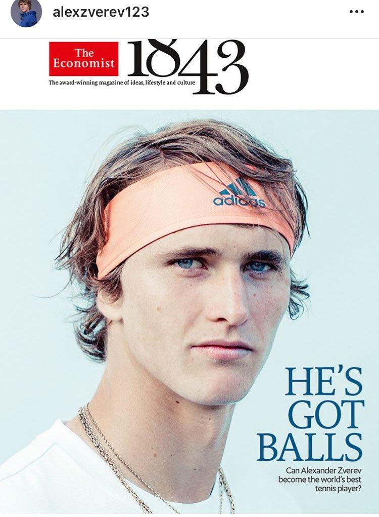 Image result for zverev on cover of economist