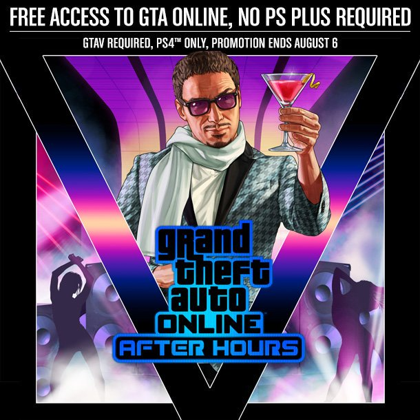 play gta online free ps4