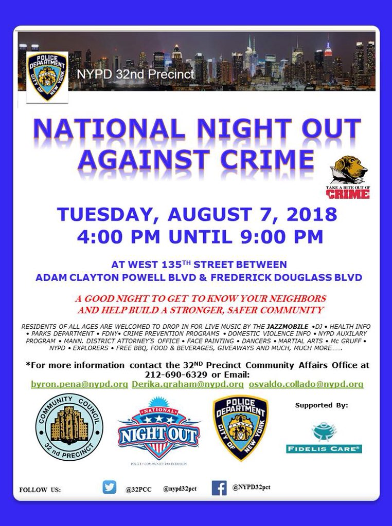 NYPD 32nd Precinct on Twitter: