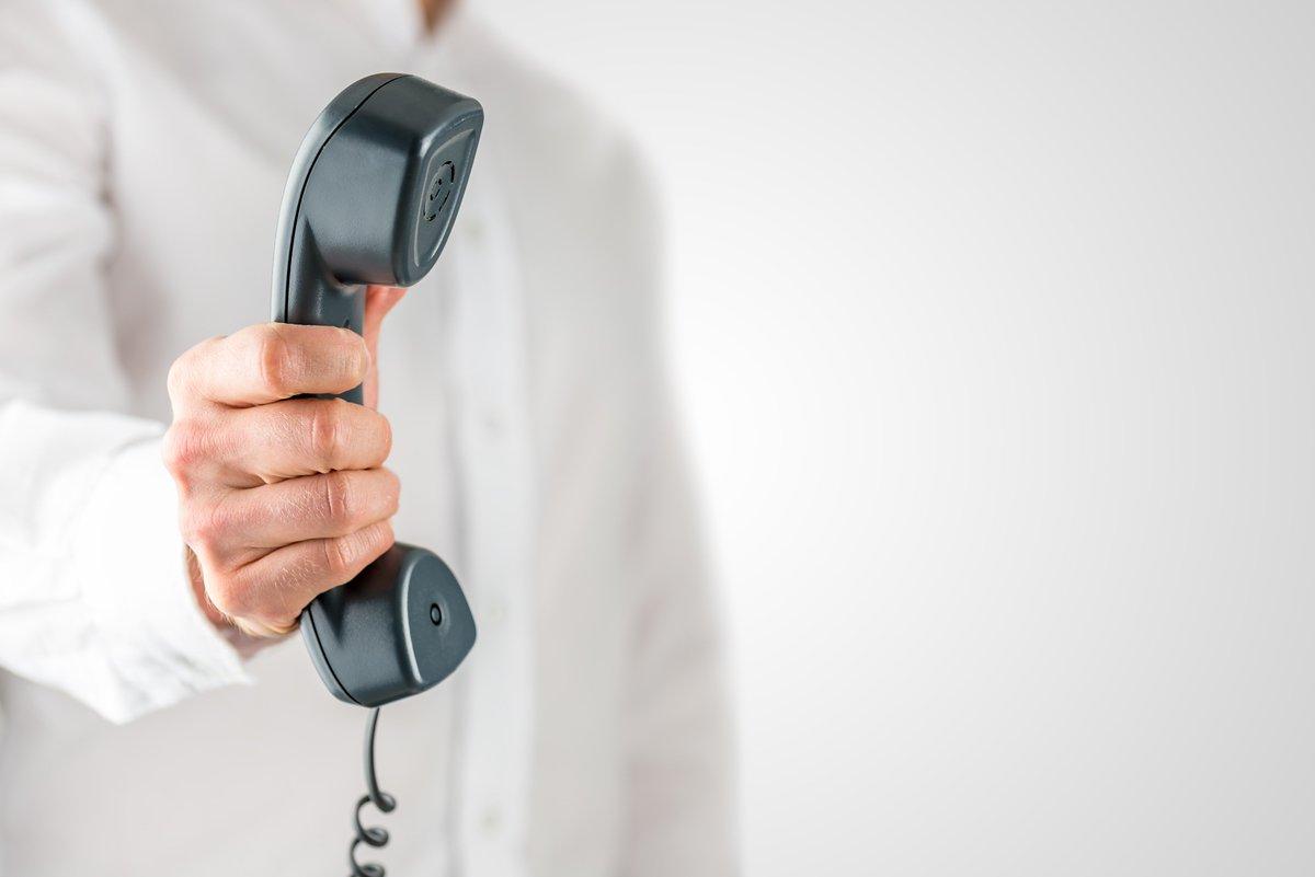 Телефонная трубка в руке картинка