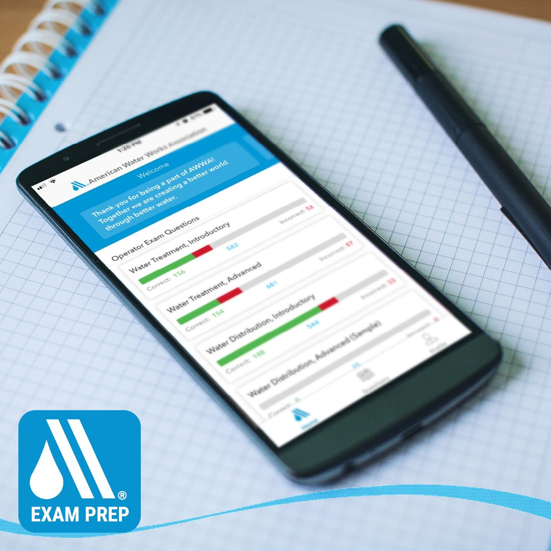 American Water Works Association On Twitter Our New Exam Prep App