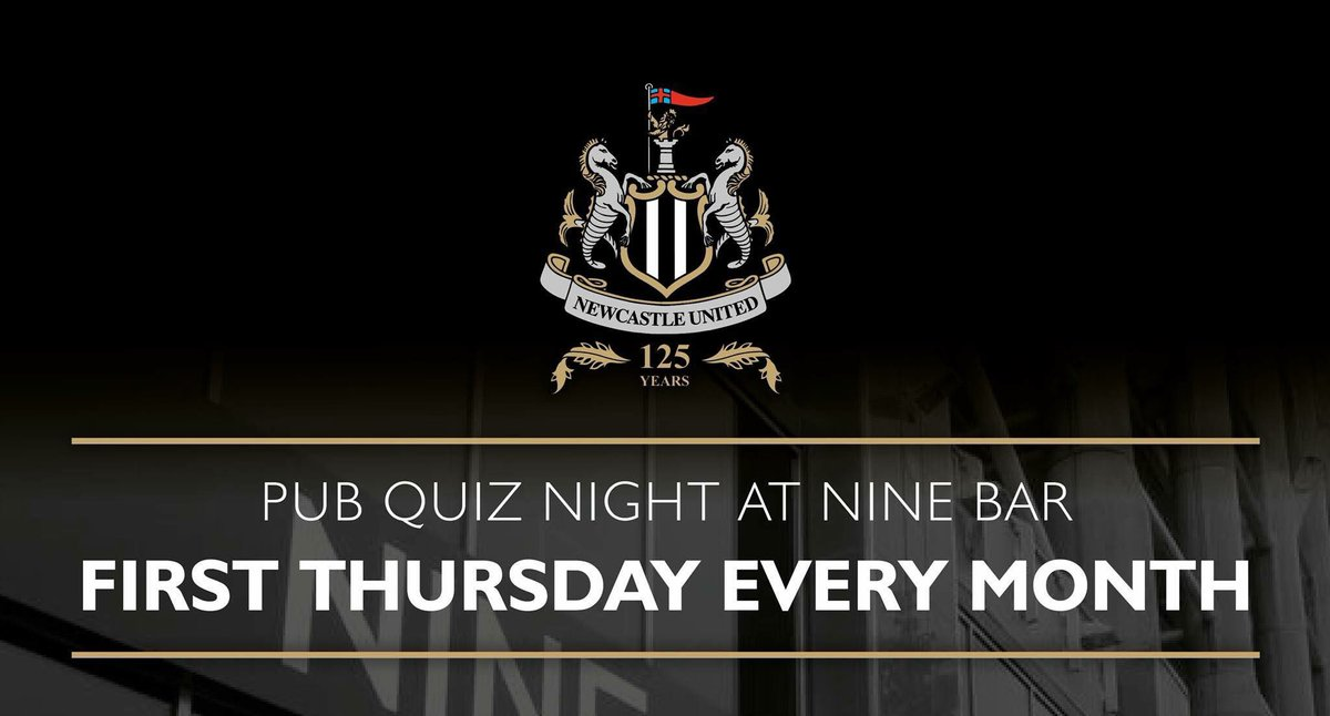 Nine Sports Bar On Twitter The Big Football Quiz Thursday