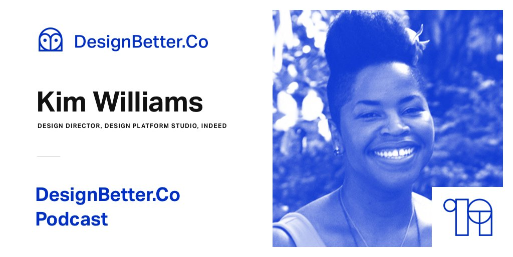 Listen on the #DesignBetter Podcast as @indeed Director of Design Experience Kim Williams shares how collaboration across the company is key to any design system's success https://invs.io/2zWGmQX