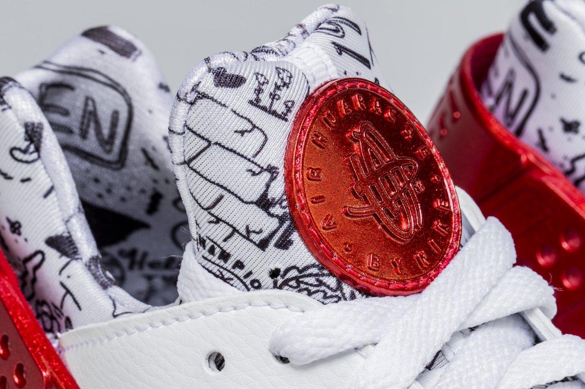 ca1de4871b45 Air huarache run qs shoe palace 25th anniversary mens lifestyle shoe  (white red platinum)