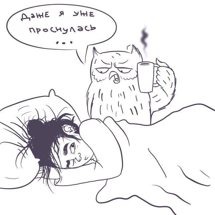 Смешные картинки я утром
