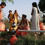 Image for the Tweet beginning: India's water crisis is hitting