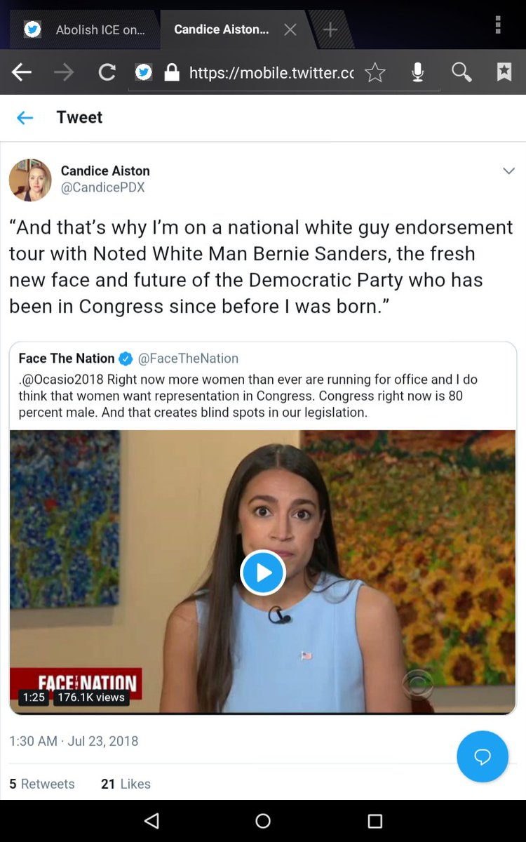 @briebriejoy Ocasio-Cortez saying we need to elect more women... is racist???