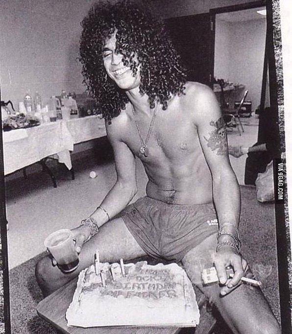 Legendary is an understatement Happy Birthday, Slash