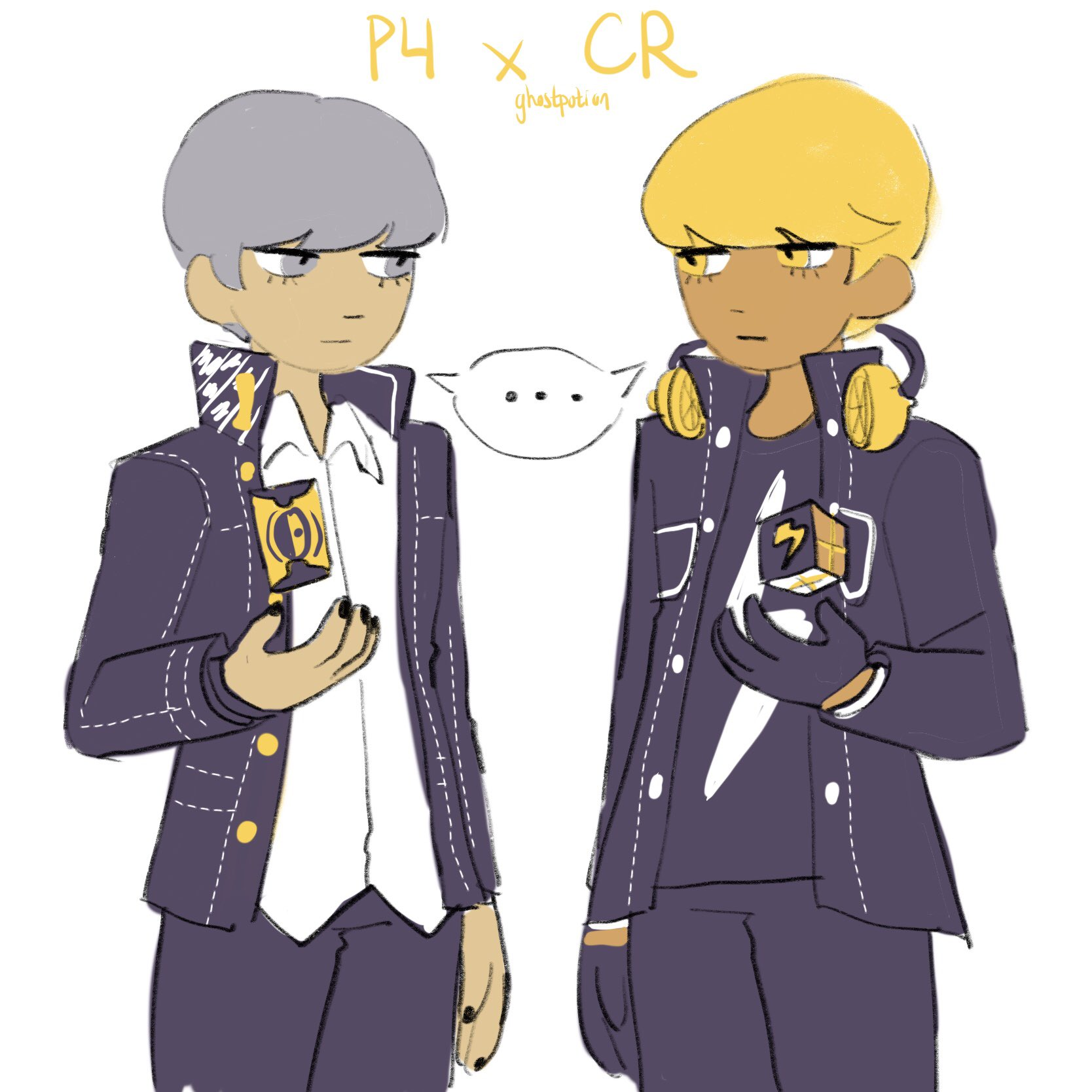Lemon cookies new skin only confirmed my suspicions #persona4 #cookierun https://t.co/mgESihpCSJ