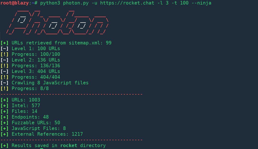 x0rz on twitter photon fast web crawler which extracts urls