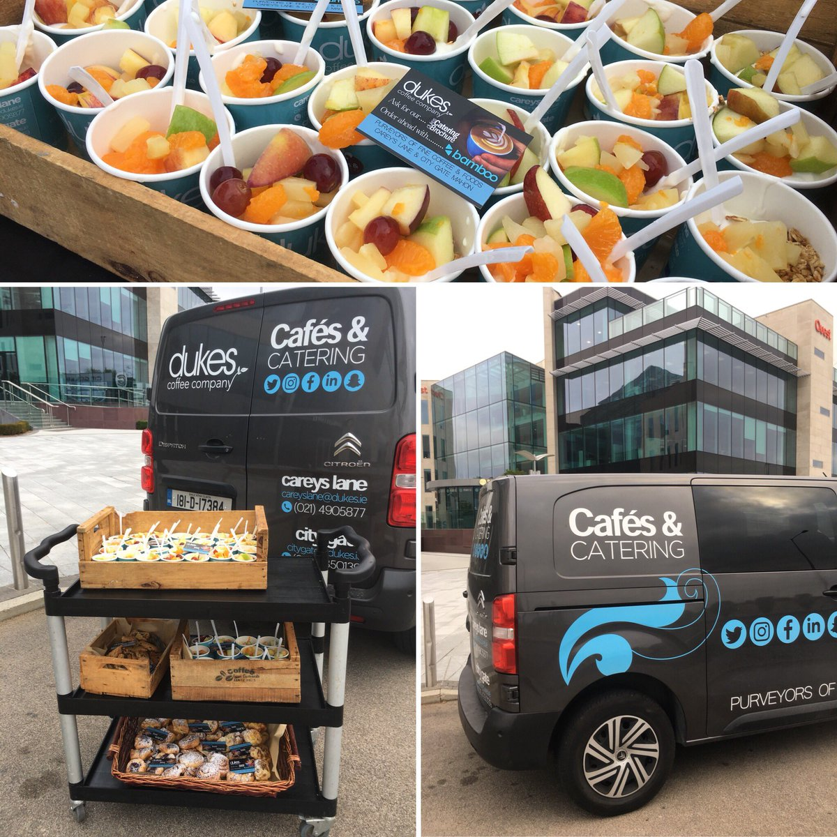 Dukes Coffee Company On Twitter Healthy Breakfast Catering