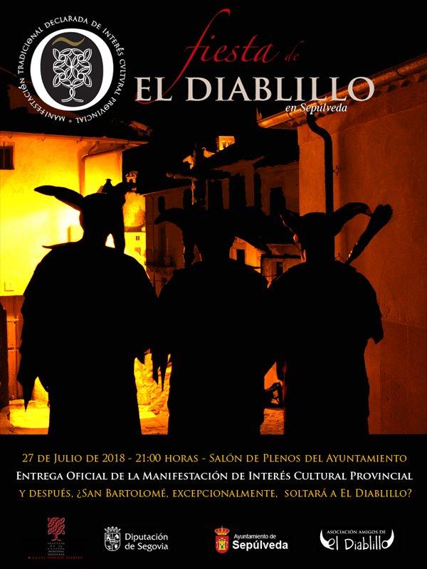 El próximo viernes, El Diablillo de Sepúlveda podría ser soltado, excepcionalmente, de las cadenas de San Bartolomé http://www.elpregonerodesepulveda.es/index.php/92-noticias/6806-eclipse-de-luna-y-salida-de-el-diablillo-de-sepulveda…  #Fiesta #ElDiablillo #Sepúlveda #Segovia #Tradiciónpic.twitter.com/f7I3IwLdA1