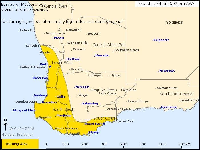 Bureau Of Meteorology Western Australia On Twitter The Passage Of