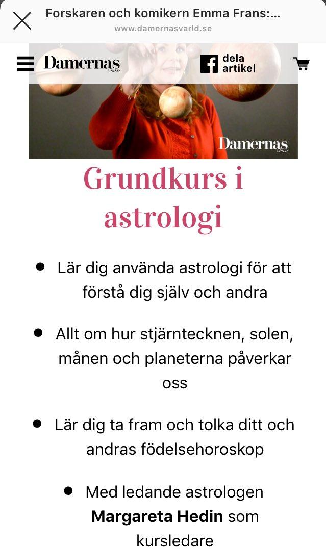 damernas värld astrologi