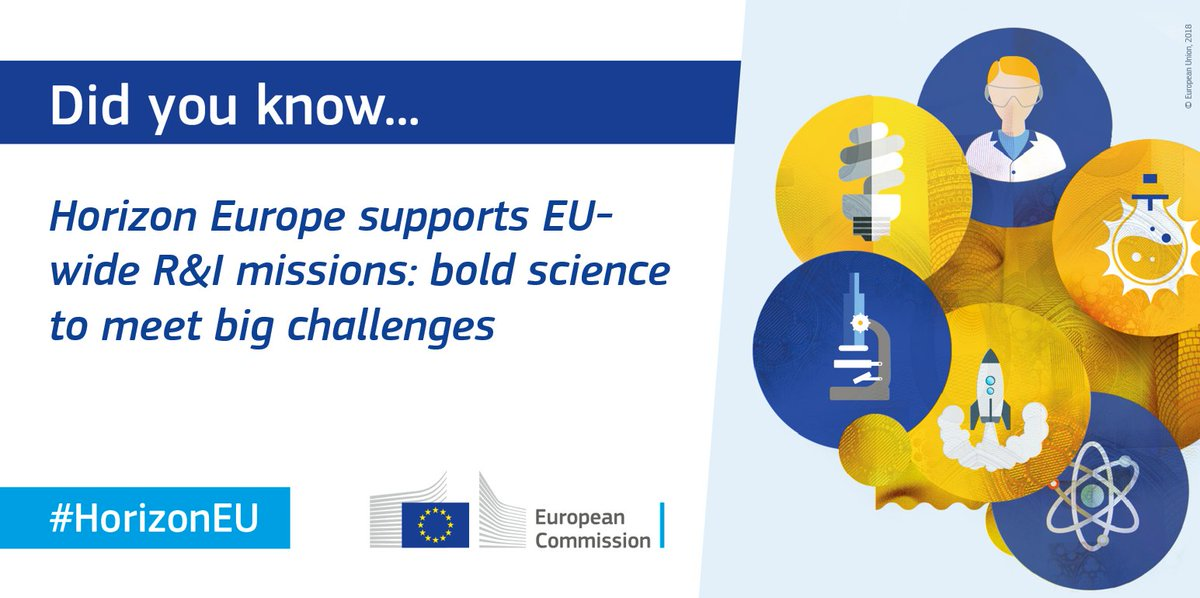 Horizon Europe (2021-2027) with a proposed #EUbudget of €100 billion needs you to co-design its EU-wide R&amp;I missions     https:// ec.europa.eu/info/designing -next-research-and-innovation-framework-programme/what-shapes-next-framework-programme_en &nbsp; …   #HorizonEU #InvestEUresearch <br>http://pic.twitter.com/FHL3n11i7u