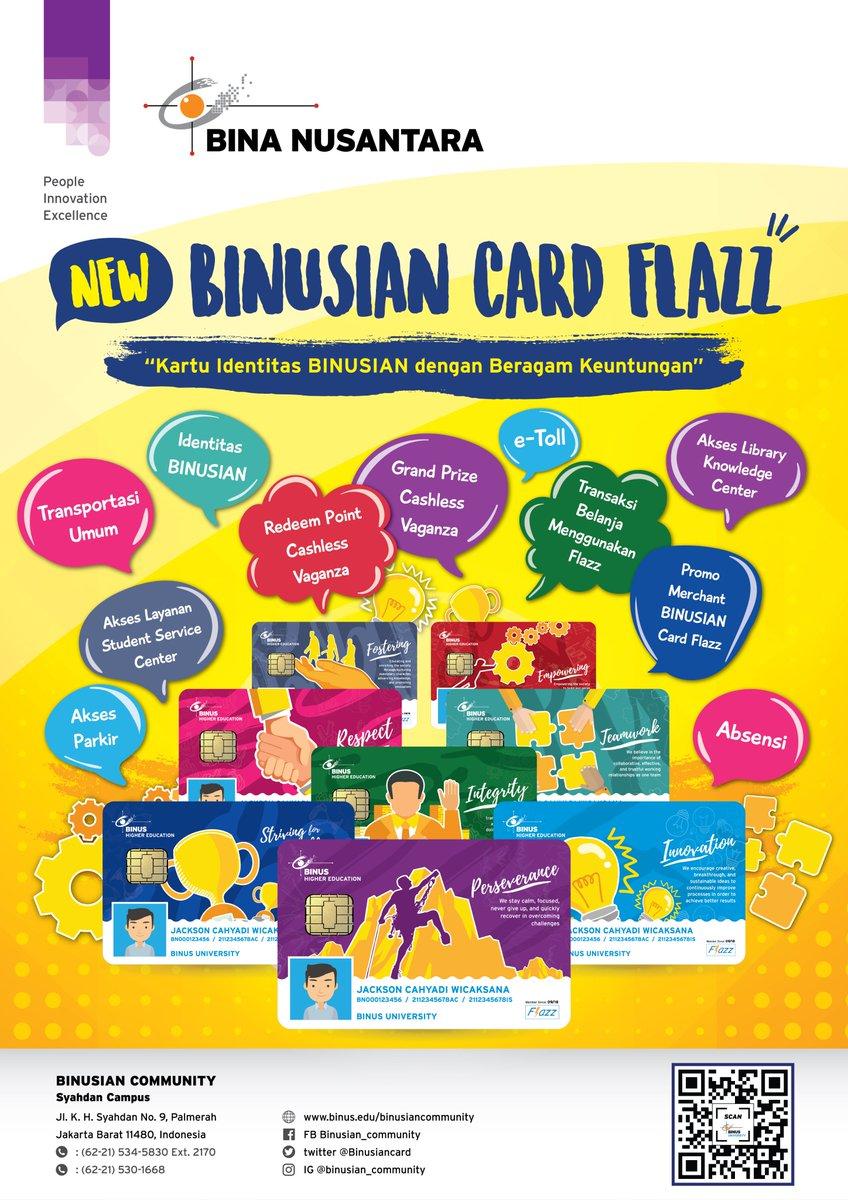 Binusian Card On Twitter Hi Flazz Kini Dan Colorfull Lho Dengan Mebawa Tema Value Fostering And Empowering Yuk Simak Apa Saja Benefit Dari Dibawah Ini