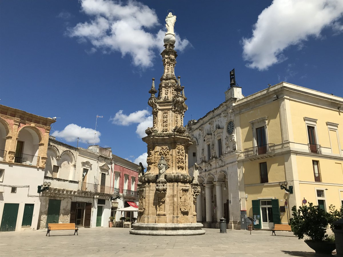 Nardo, #Italy in #Puglia: Beautifully #Baroque Piazza Salandra More about Italy on our Youtube page: https://www.youtube.com/BigSmall_travel?sub_confirmation=1… #Apulia #Italian #architecture