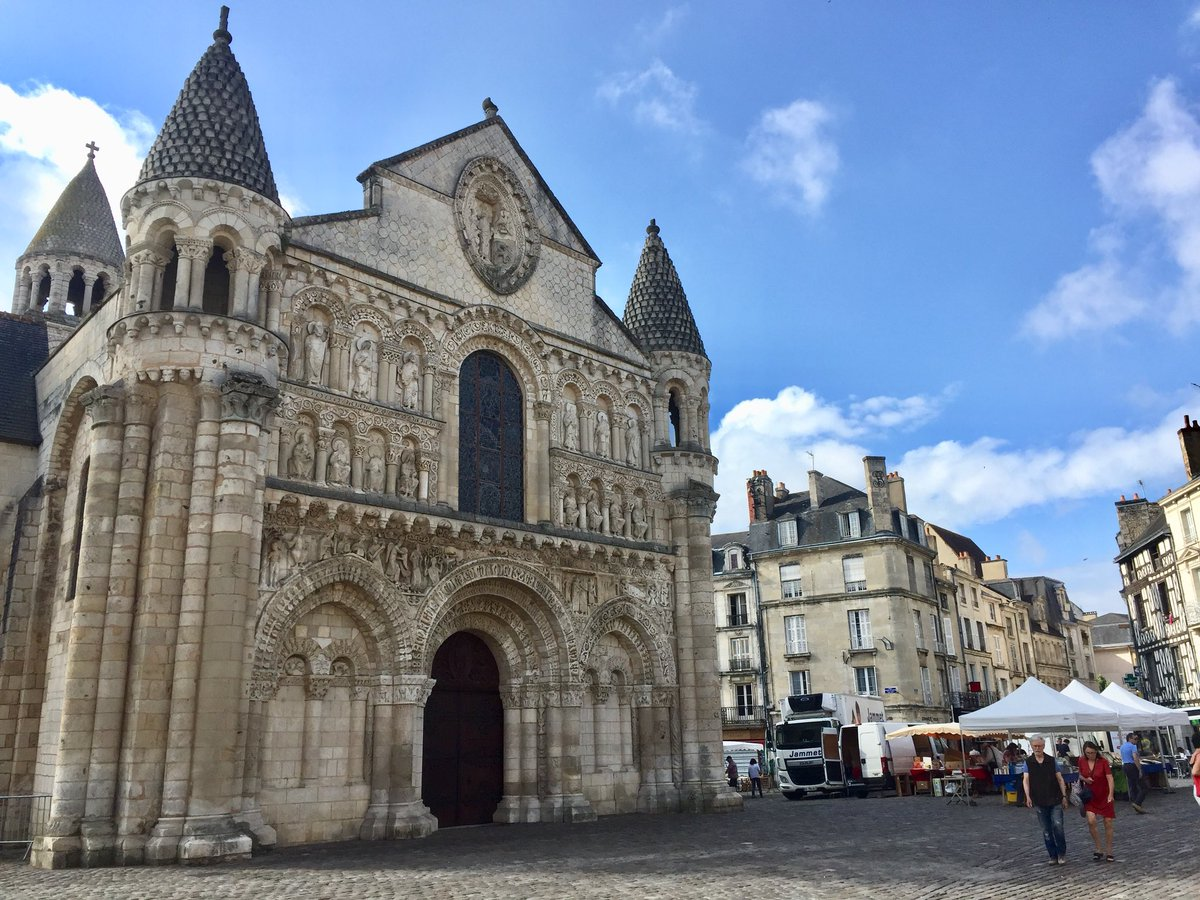 Penny Harvey On Twitter Notre Dame La Grande Poitiers A Perfect Romanesque Church
