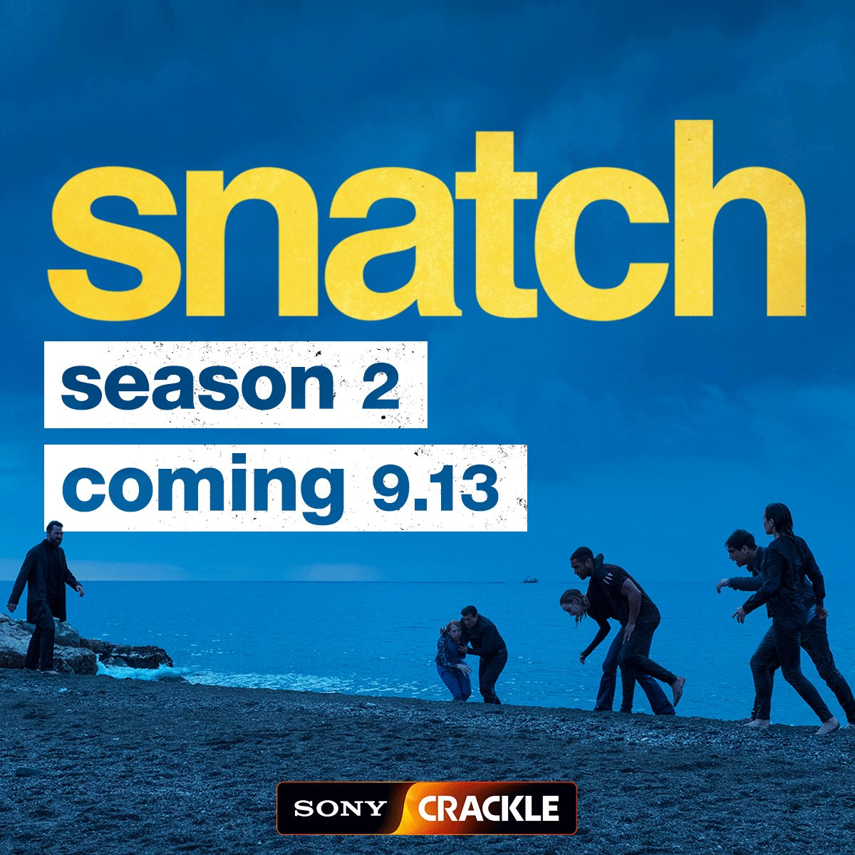 Season 2 of @Snatch starring @ItsLucien hits our screens this September on @SonyCrackle . We can't wait to see what the gang gets up to this time! #SnatchCrackle
